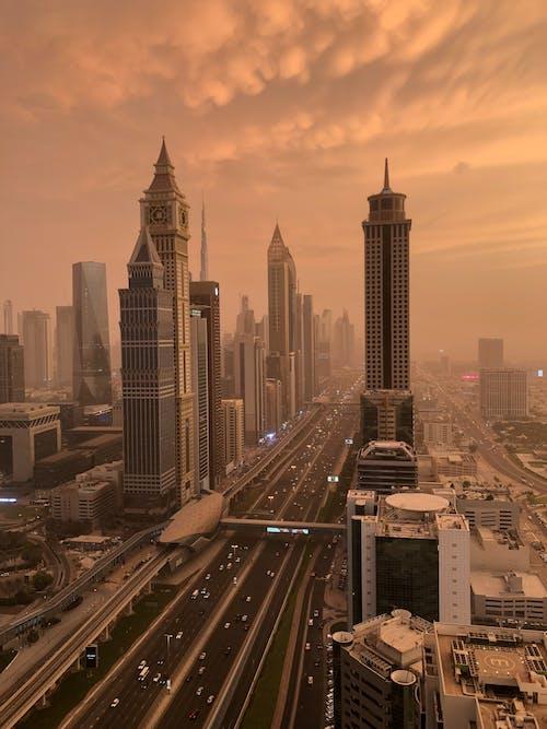 Immagine gratuita di architettura, città, dubai