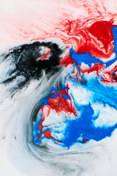 Kostenloses Stock Foto zu abbildung, abstrakt, acrylmalerei