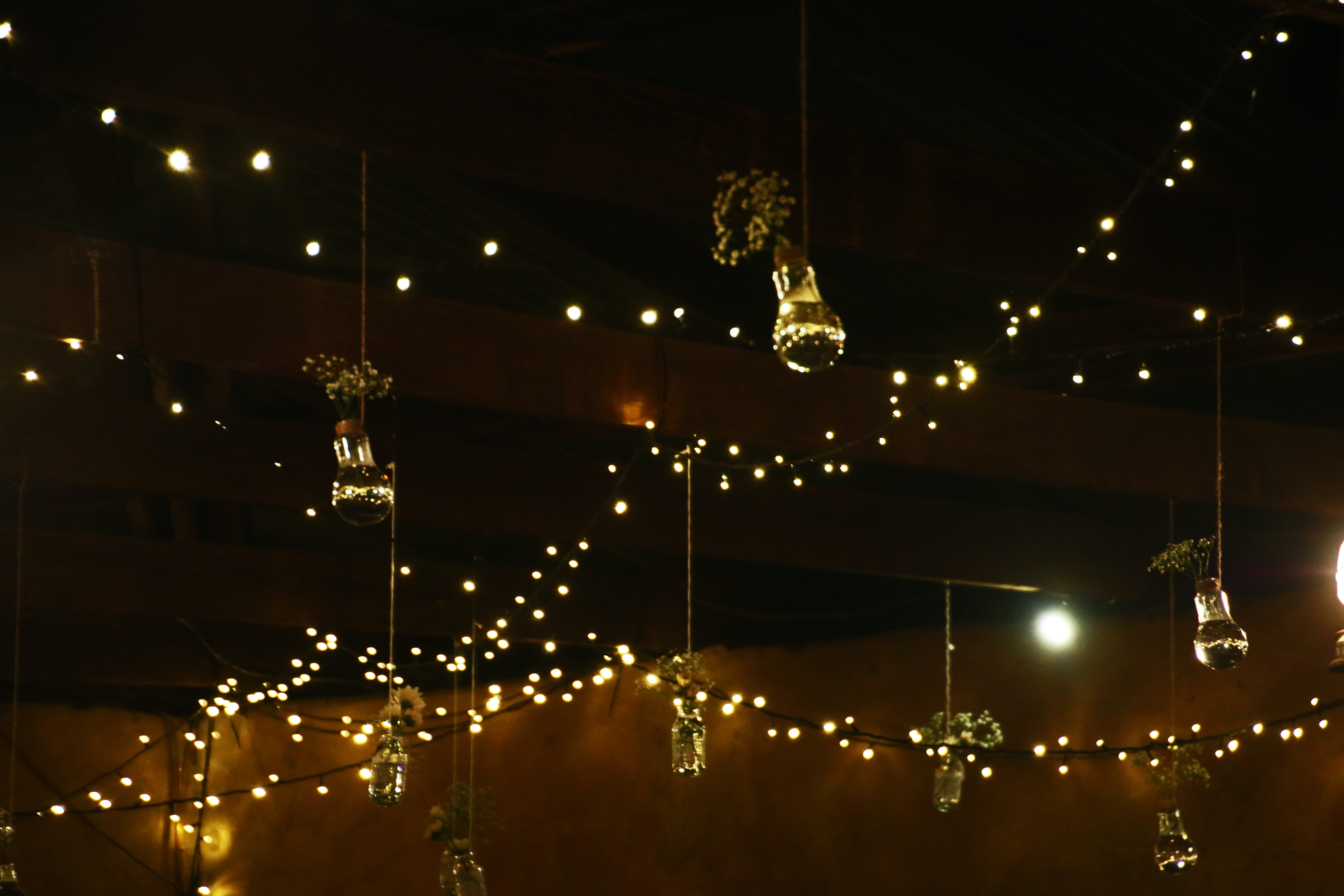 Photography of String Lights