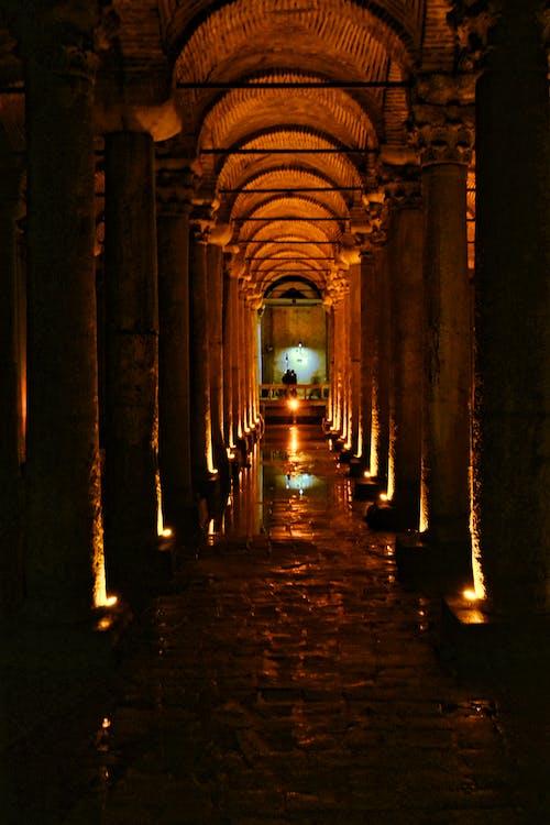 Free stock photo of basilica, beauty, city lights, colors