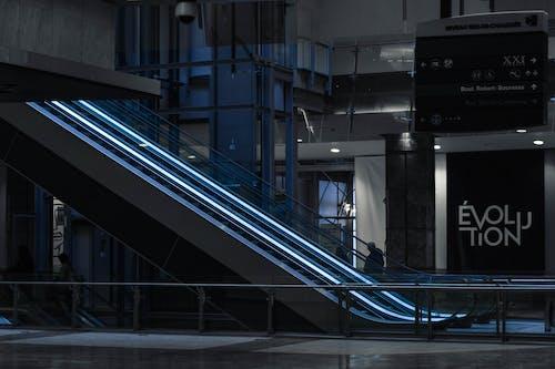 Ingyenes stockfotó építészeti, futurisztikus, modern, mozgólépcső témában