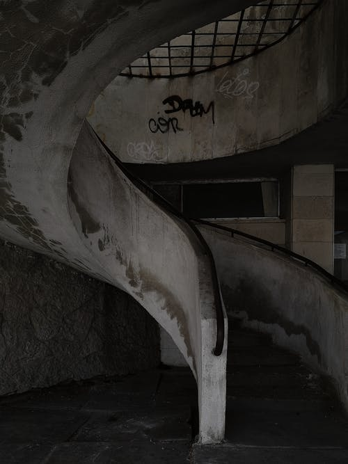 Free stock photo of abandoned, architecture, art