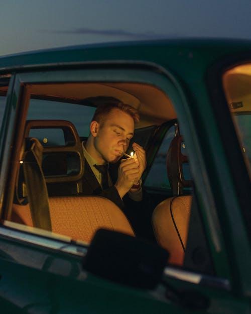 Gratis lagerfoto af belyst, bil, bilinteriør