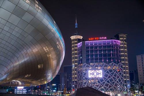 亞洲建築, 圖案, 建築師, 韓國 的 免费素材照片