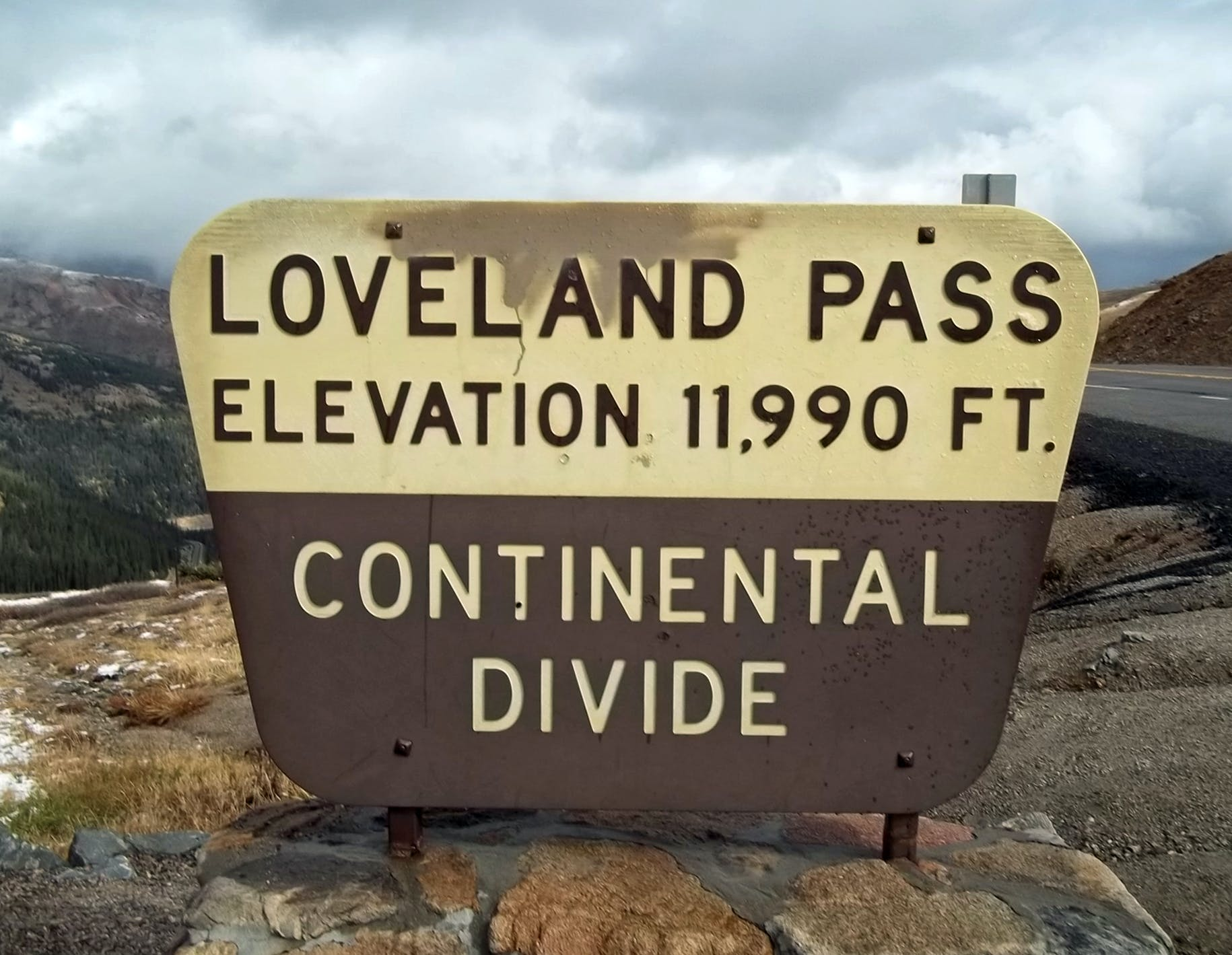 Free stock photo of sign for loveland pass