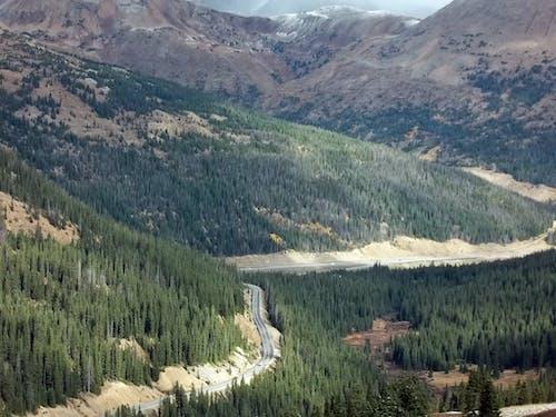 도로, 산, 자연의 무료 스톡 사진