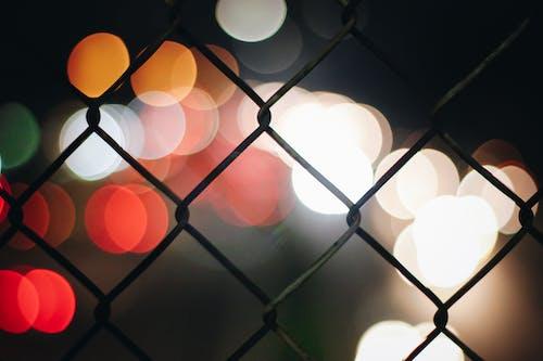 ぼやけて, ぼやけている, フェンス, 金網の無料の写真素材
