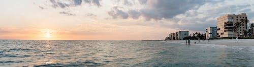 人, 全景, 日出, 日落 的 免费素材照片