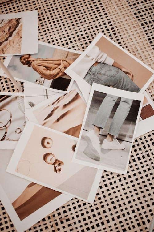คลังภาพถ่ายฟรี ของ girlboss, moodboard, กระดาษ