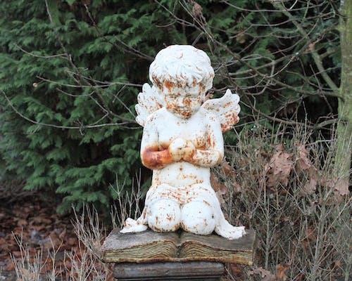 天使の像の無料の写真素材