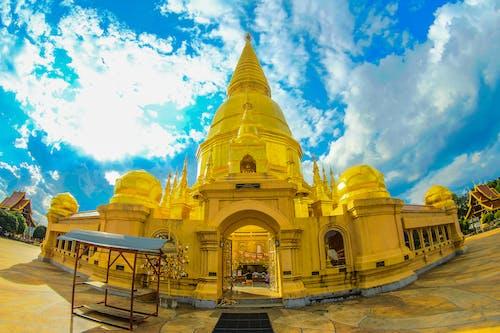 Gratis lagerfoto af arkitektur, buddhistisk tempel, bygning, guld