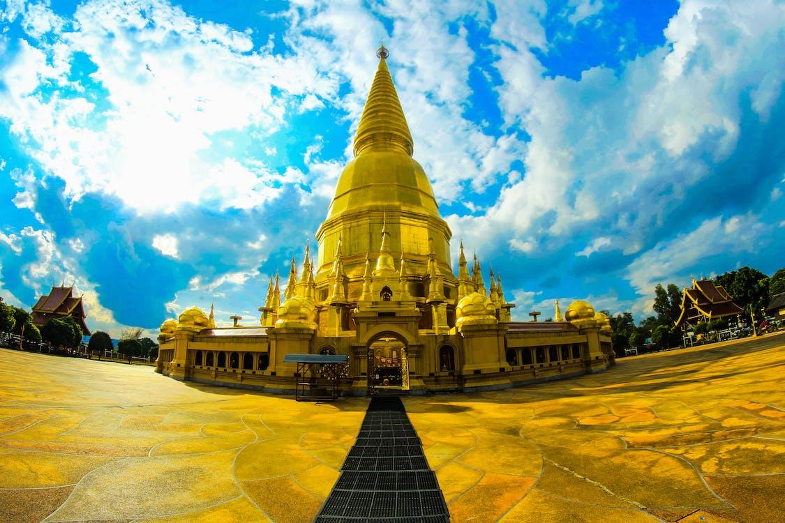 城市, 外觀, 寺廟