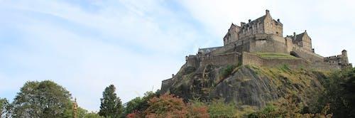Ingyenes stockfotó edinburgh-i vár, építészet, épület, erődítmény témában
