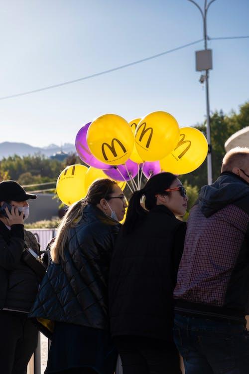 Kostenloses Stock Foto zu angriff, ballon, drag race