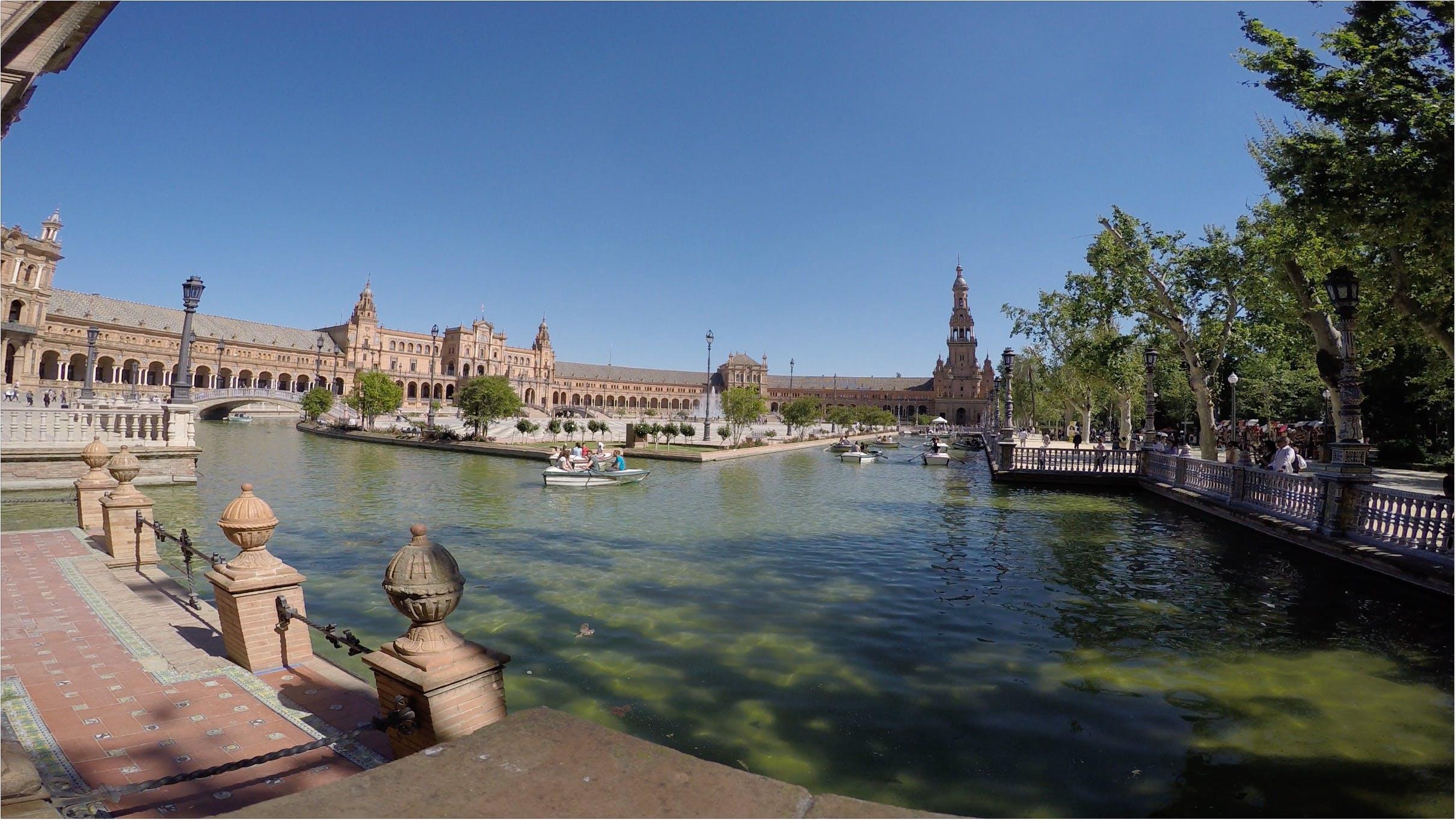 Free stock photo of españa, plaza, sevilla