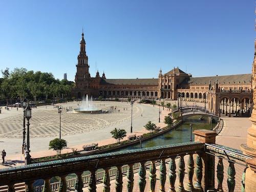 Immagine gratuita di español ± a, piazza, siviglia