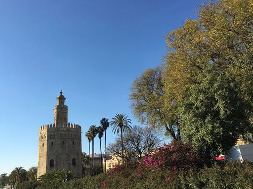espaã ± bir, sevilla, torre içeren Ücretsiz stok fotoğraf