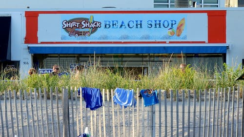 Free stock photo of beach, shore, signs