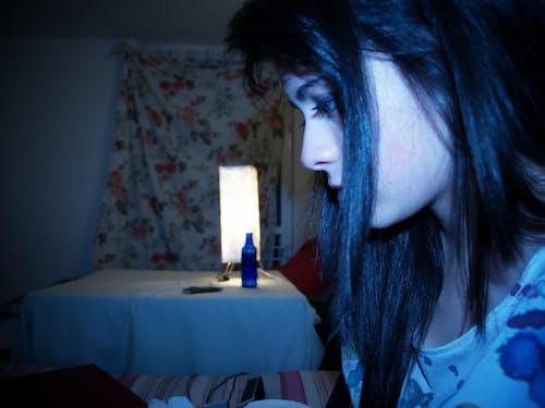 Foto d'estoc gratuïta de blau, cabell, increïble, moment