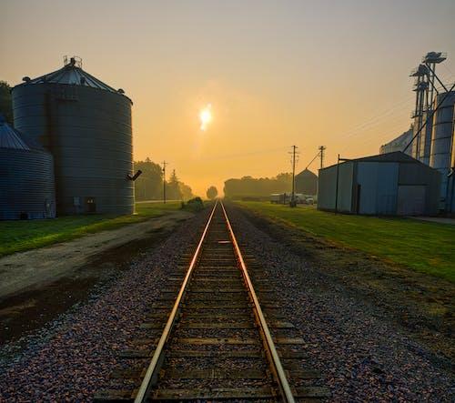 가벼운, 거리, 곡물 엘리베이터의 무료 스톡 사진