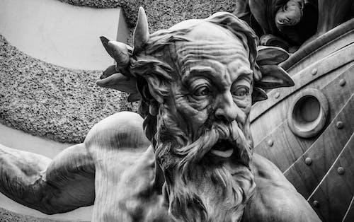Fotobanka sbezplatnými fotkami na tému čierny abiely, socha, sochárstvo, umenie