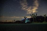 sky, person, night