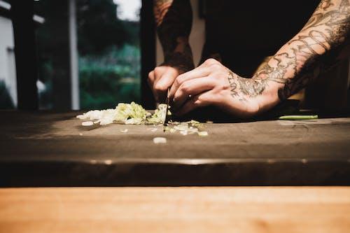 Free stock photo of bamboo, blur, chef