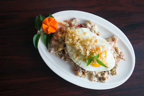 Darmowe zdjęcie z galerii z fotografia kulinarna, gotować, jajko, jedzenie