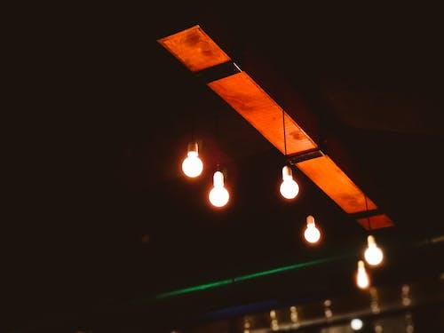 Imagine de stoc gratuită din bar de zi, bec, culori, electric
