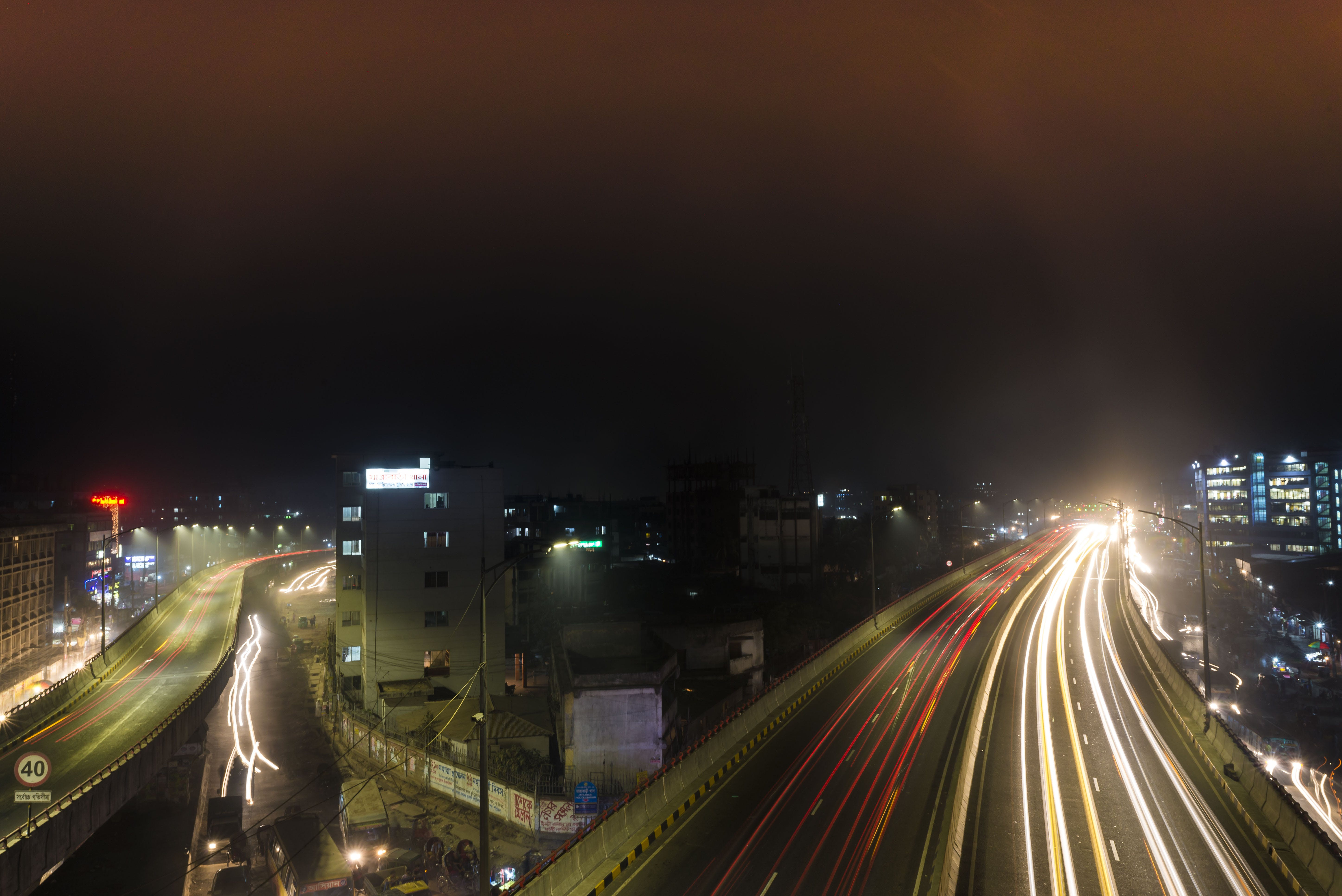 Free stock photo of long exposure, night photography