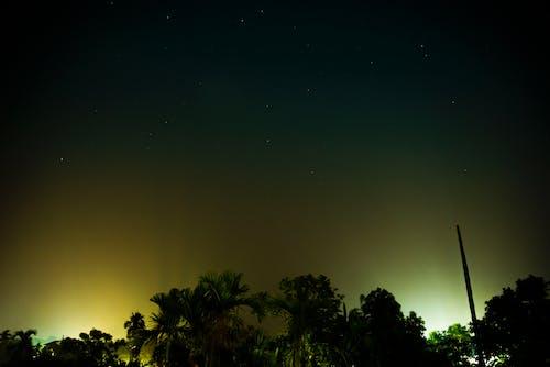 Fotobanka sbezplatnými fotkami na tému nočná fotografia, nočná obloha, nočné svetlá