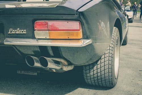 Free stock photo of automobile, car, exhaust pipe, retro