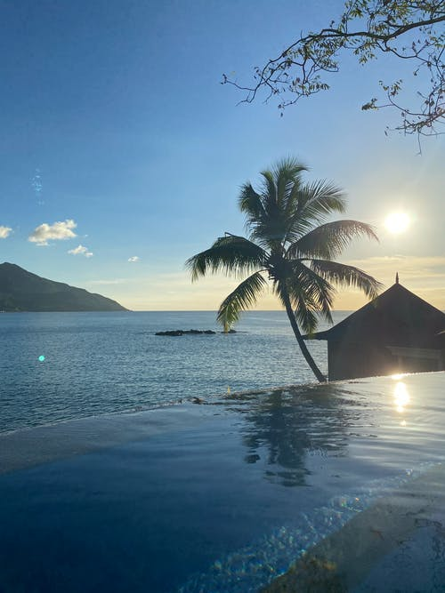 Gratis stockfoto met biljarten, eiland, infinity pool
