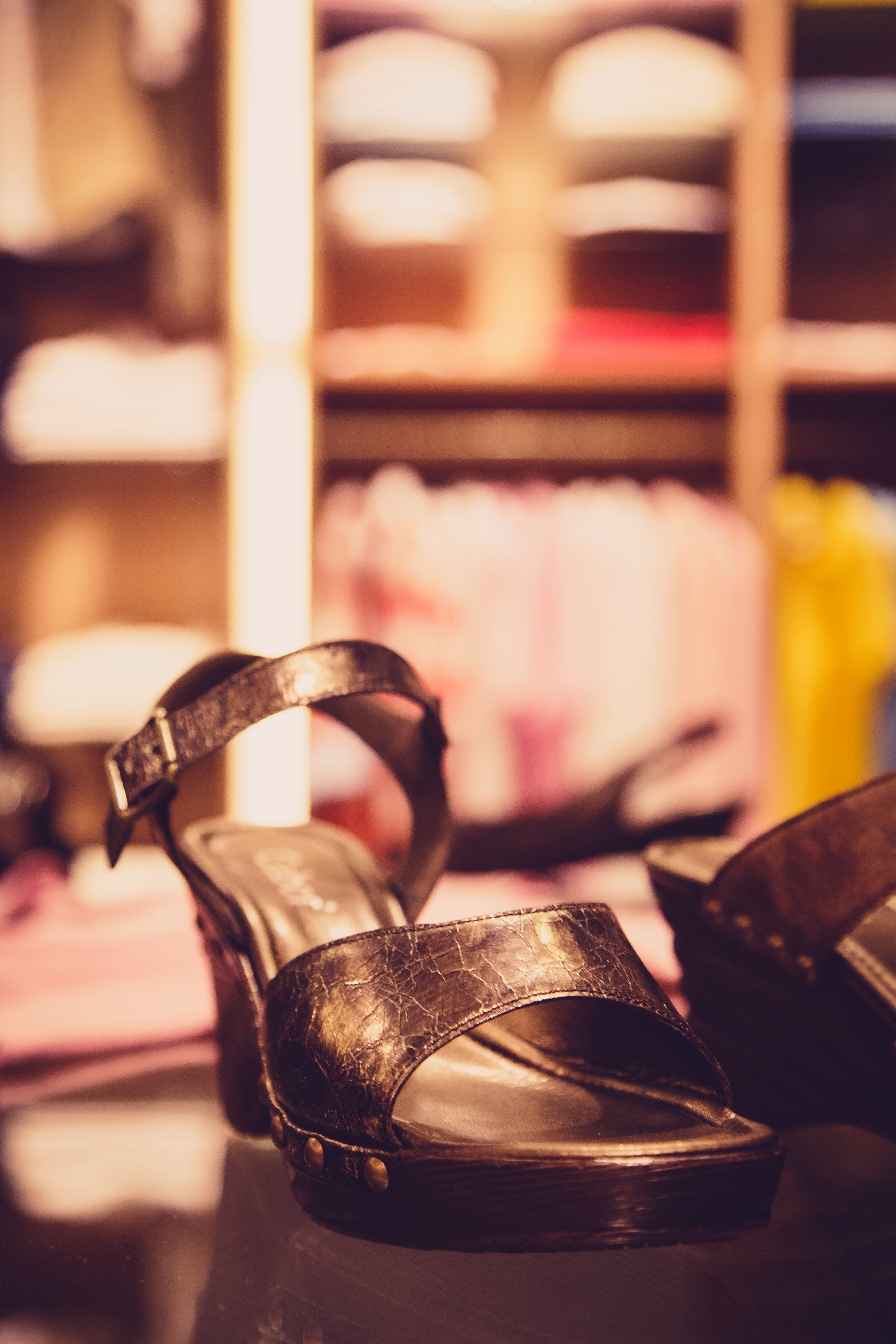 Kostenloses Stock Foto zu absätze, fashion, makro, sandalen