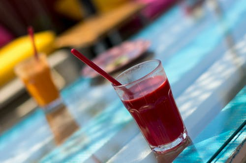 Free stock photo of colorful, drinks, smoothie, summer