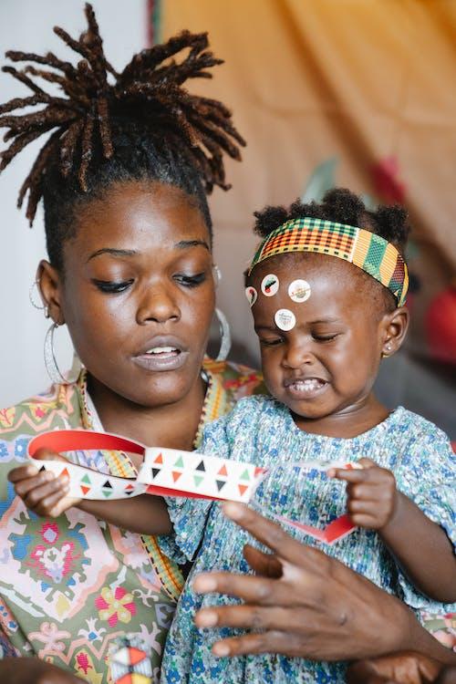 Immagine gratuita di afro-americano, bambino, donna nera