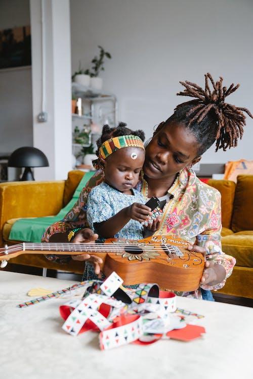 Ingyenes stockfotó afro-amerikai, anya, anyaság témában