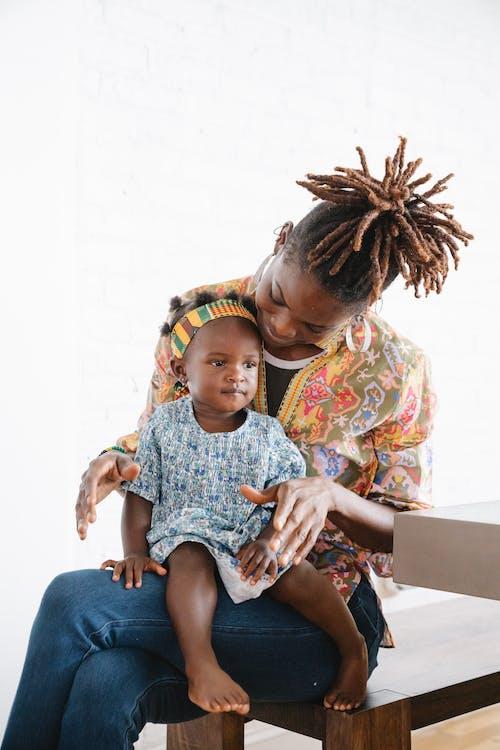 Immagine gratuita di afro-americano, bambino, carino