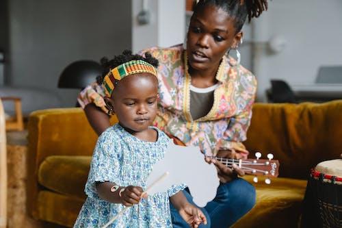 Kostnadsfri bild av afroamerikan, barn, dotter