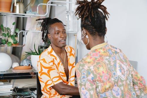 Foto profissional grátis de afro-americano, casal, cônjuges