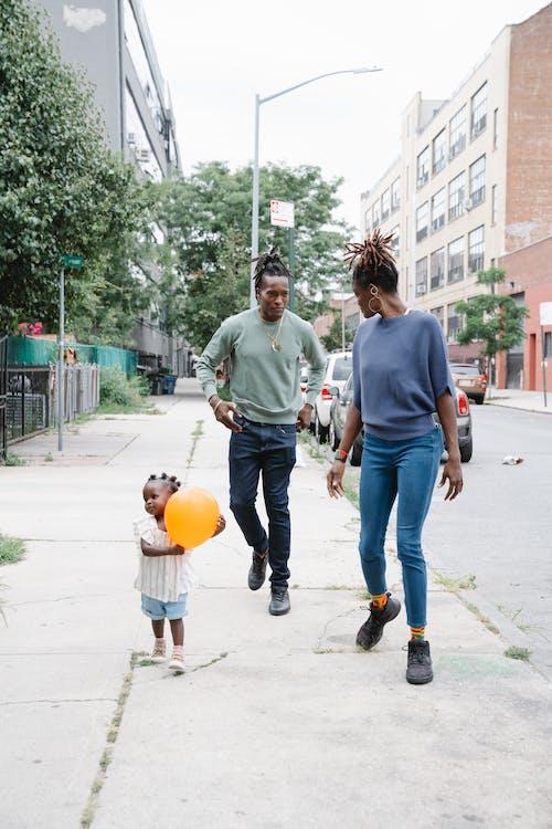 アフリカ系アメリカ人, お父さん, カップルの無料の写真素材