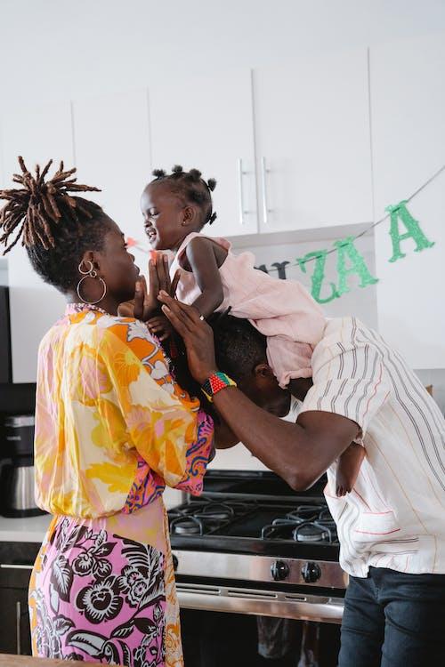 Fotos de stock gratuitas de afroamericano, bebé, chica de raza negra