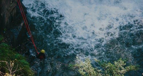 Gratis lagerfoto af bølger, dagslys, hjelm, landskab