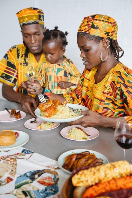 Immagine gratuita di abiti tradizionali, afro-americano, bambino