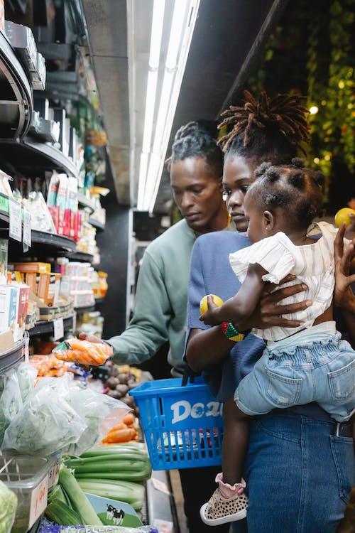 Photos gratuites de acheter, afro-américain, couple