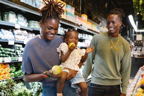 Photos gratuites de acheter, afro-américain, bonheur