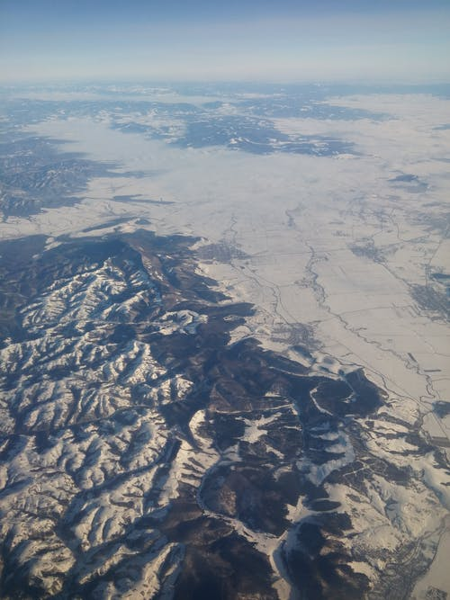 Gratis stockfoto met berg, bird's eye view, buiten, buitenshuis