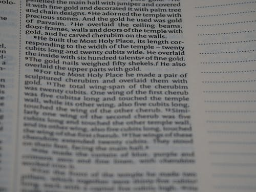 Ingyenes stockfotó 2 krónikát, Biblia, biblia tanulmányozása témában