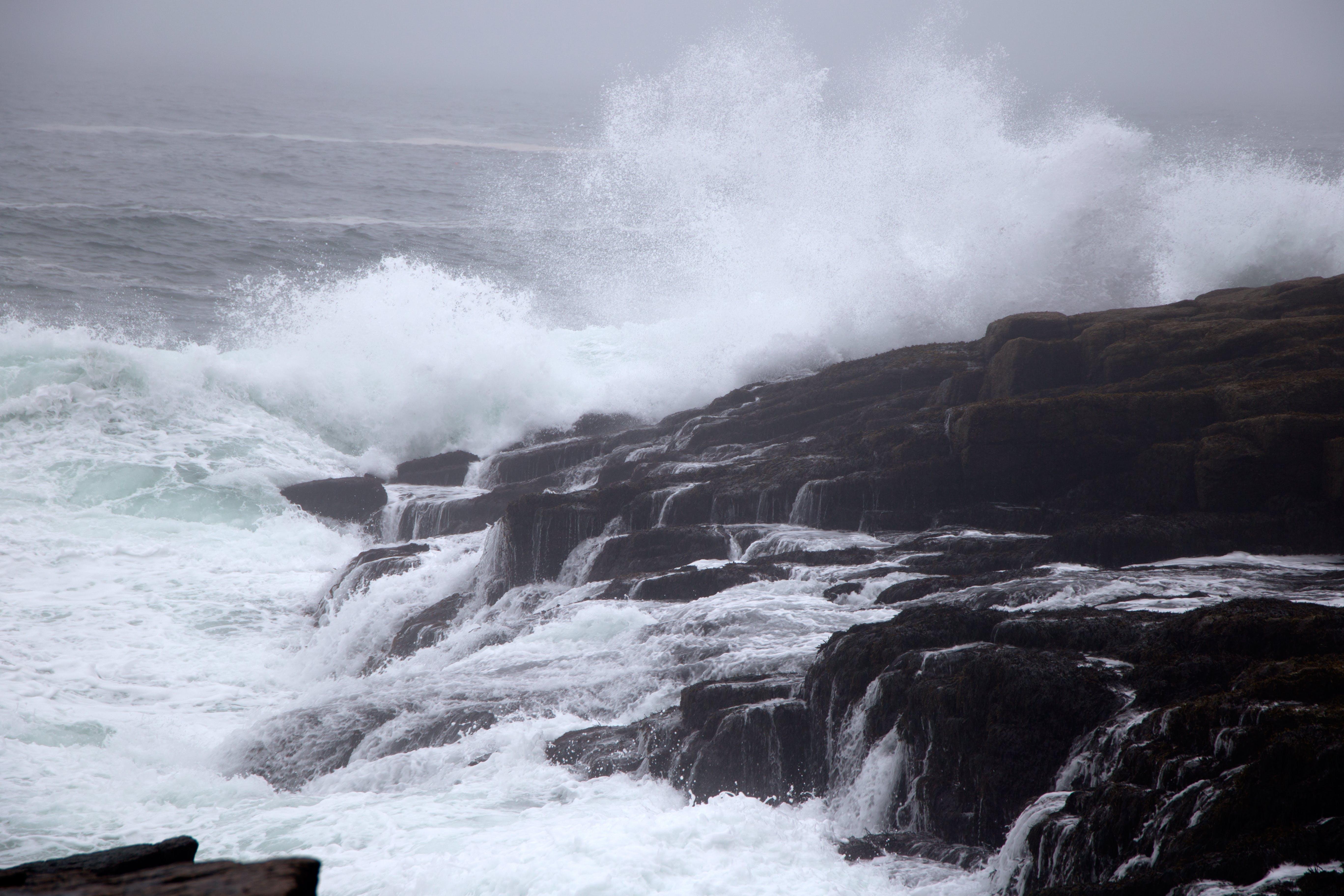 Základová fotografie zdarma na téma kameny, mávání, moře, oceán