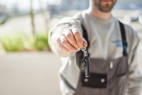 Imagine de stoc gratuită din cheie, cumpărarea de mașini, fotografie de aproape, macro